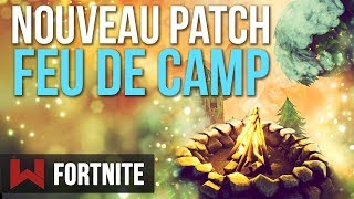 SUMMARY PATCH 2.1.0: CAMPFIRE Fortnite Battle Royale