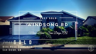 7677 Windsong Rd | Mira Mesa | San Diego, CA - SOLD Seller Representation