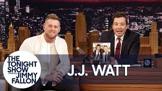 failzoom.com - Jimmy Reveals J.J. Watt Is Sports Illustrated's 2017 Sportsperson of the Year