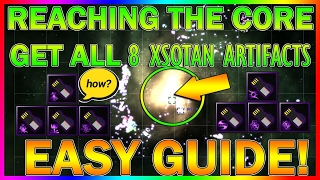 COMPLETE! GUIDE | HOW TO GET ALL 8 Xsotan Artifacts EASY | AVORION | REACHING THE CORE | GUARDIAN