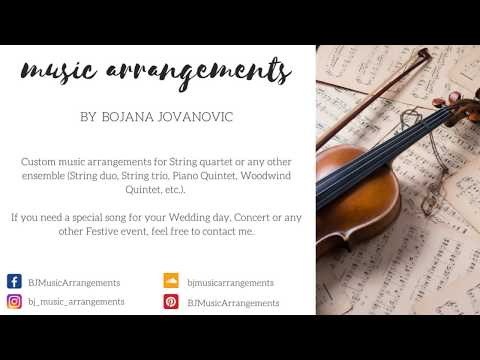 Custom MUSIC Arrangements at your request!