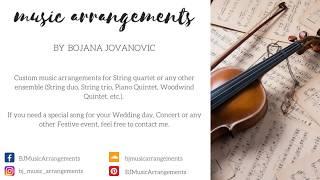 Custom MUSIC Arrangements at your request!