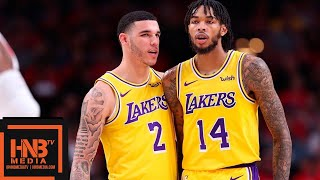 Lonzo Ball & Brandon Ingram Highlights vs Blazers | 10.18.2018, NBA Season