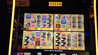 Zorro slot machine Free Spin Bonus games at Green Valley Ranch HD