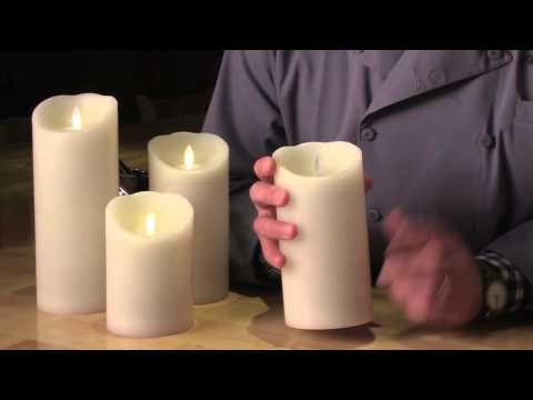 Flameless Mirage Flickering Flame Candles from Sterno Products
