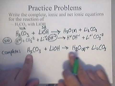 Neutralization Reaction Practice Problem 2