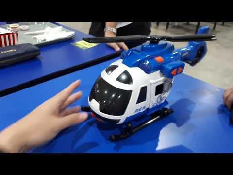 Unboxing The TEAMSTERZ Rescue Helicopter