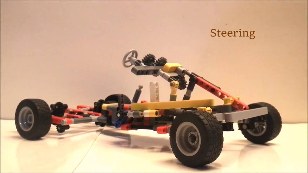 Lego Technic Car Chassis - YouTube