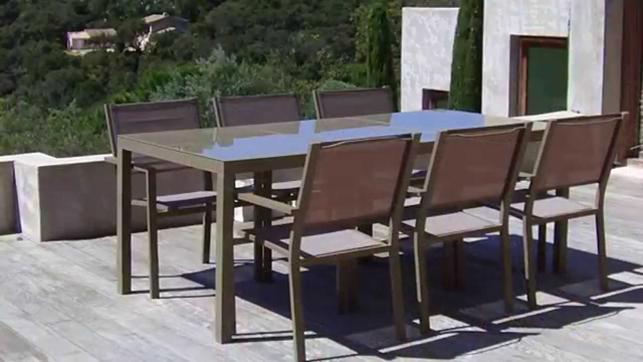 oogarden salon de jardin faug res youtube. Black Bedroom Furniture Sets. Home Design Ideas