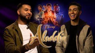 #Aladdin Mena Massoud Likes To Belly Dance! | Interview w/ Mistah Islah