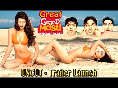 Great Grand Masti Official Trailer Launch | Riteish, Vivek, Aftab, Urvashi