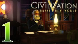 Civilization V Brave New World as Brazil - Episode 1 ...Welcome to the Jungle...