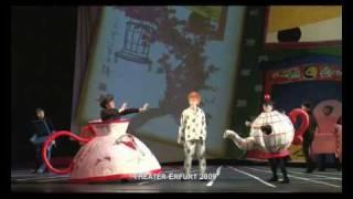 Das Kind und die Zauberdinge im Theater Erfurt