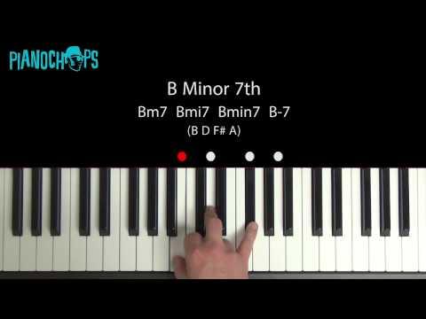 Bm7-5 Piano Chord - worshipchords