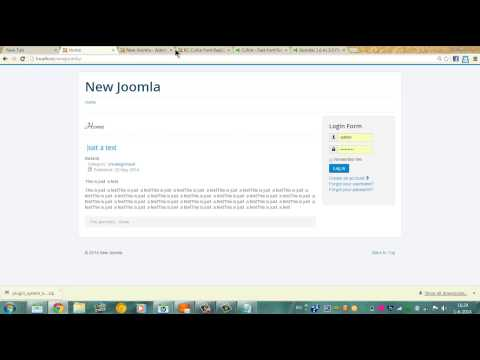 How to: Replace Your Default Joomla Fonts