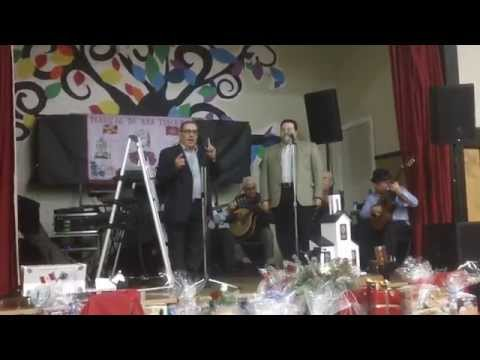 Cantigas ao Desafio em Vancouver com Estrela da Lagoa e Victor Santos da Terceira
