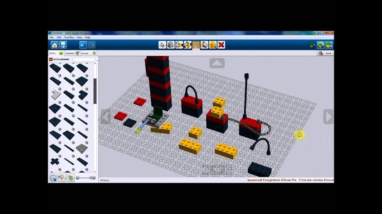 Tutoriel de lego digital designer ldd sans sons youtube tutoriel de lego digital designer ldd sans sons pronofoot35fo Images