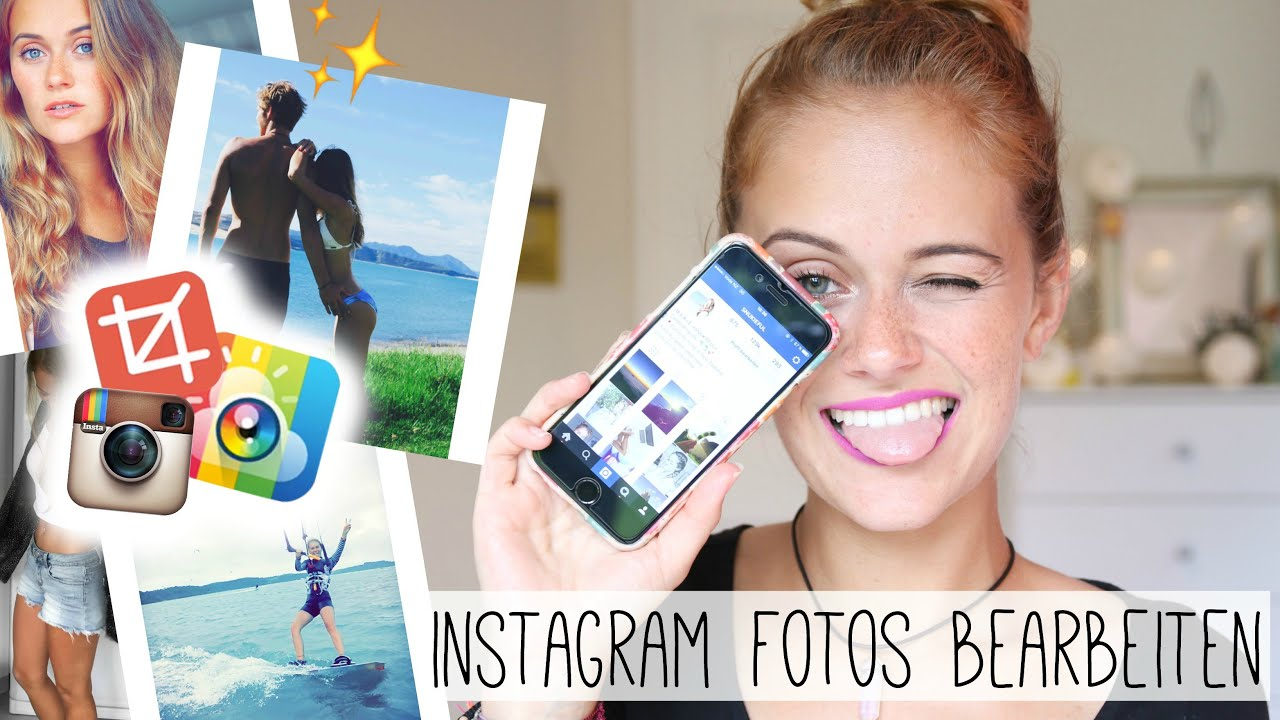 HOW TO: Instagram BILDER bearbeiten - meine LIEBLINGSAPPS ...