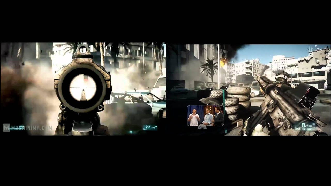 Battlefield 3 PC vs. Console graphics - YouTube