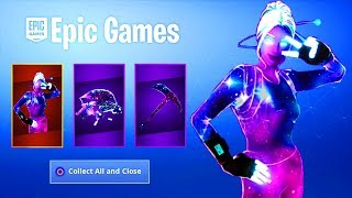 'NEW' FORTNITE FEMELLE GALAXY SKIN BUNDLE!?