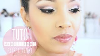 ♡TUTORIEL: Maquillage Soirée violet, prune by Amivi Thumbnail