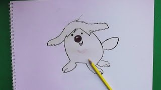 Como dibujar y pintar paso a paso a Poochie - How to draw and paint step by step Poochie