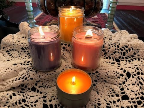 DIY Making Candles with C 3 Soy Wax Made in USA