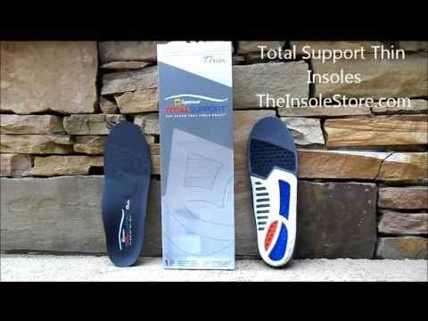4f69051fb3 Spenco Total Support Thin Insoles Review @ TheInsoleStore.com - YouTube
