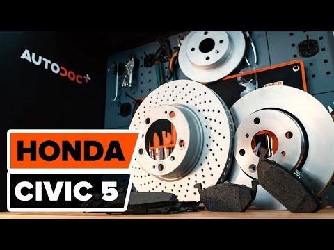 Wie Honda Civic 5 Bremsscheiben Vorne Bremsbel 228 Ge Vorne