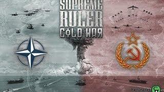 Supreme Ruler Cold War - Brasil na Guerra Fria!!! (Gameplay / PC / PTBR)