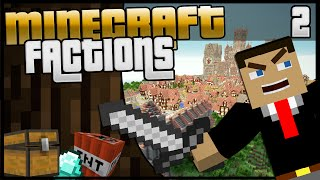 Minecraft Factions | Episode 2 | Let The War Begin!