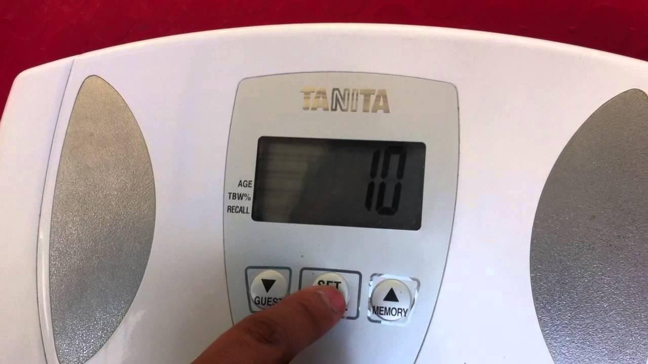 Prueba de calibre de grasa corporal