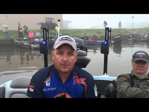 Koby Kreiger: Day 2 at the BASS Elite on the Sabine River