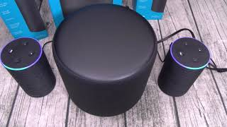Amazon Echo Sub - 2.1 Stereo Sound For Echo Devices
