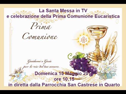 Santa Messa E La Celebrazione Della Prima Comunione