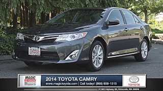 2014 Toyota Camry Review | Magic Toyota - Toyota Dealer in Edmonds, WA