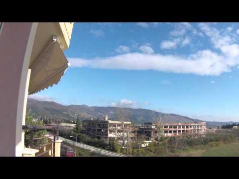 Ξανθη 17-12-2015. Xanthi Greece timelapse sky