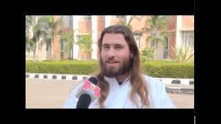 HallaBol Channel (Tripura): Exclusive TV Interview with Swami Purnachaitanya (Hindi)