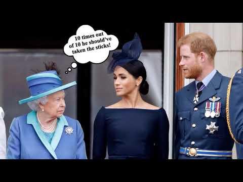 Did Prince Harry PROTECT Megan Markle??