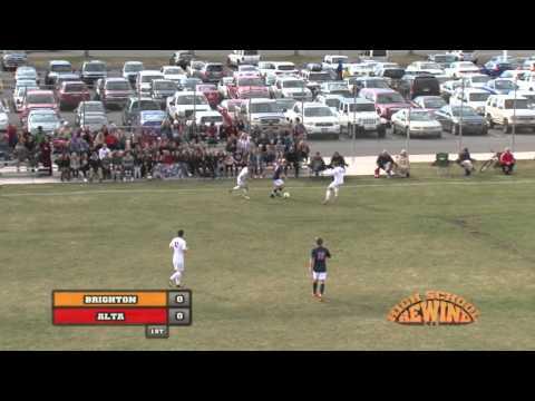 High School Rewind - Brighton @ Alta (Boys Soccer) {3-7-16}