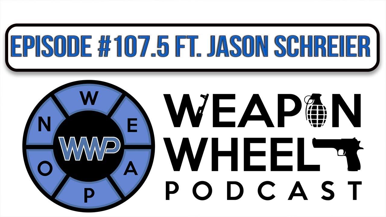 Kotaku Editor Jason Schreier Interview: Blood, Sweat & Pixels | Weapon Wheel Podcast 107.5