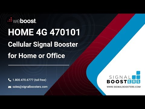 weBoost Home 4G Cell Phone Signal Booster 470101 | Signal Boosters