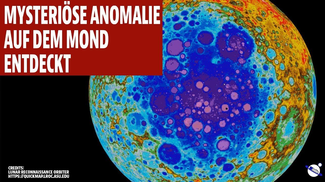 Mysteriöse Anomalie auf dem Mond entdeckt