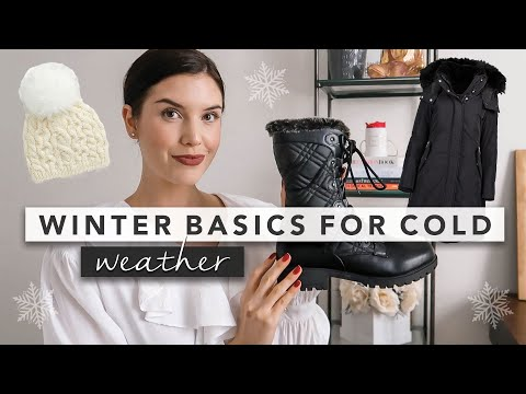 Winter Basics You Need For When It's Cold AF | By Erin Elizabeth