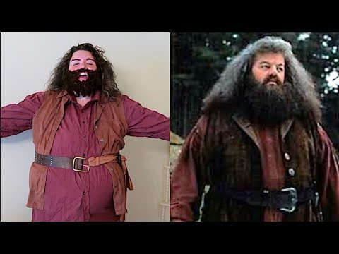 how to make a hagrid costume super easy youtube