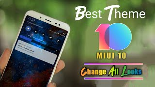 Best Android P Dark  MIUI 10 Theme In 2018 || MI Phones Themes