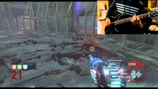 115 Guitar Cover - Black Ops Zombies - Kino Der Toten