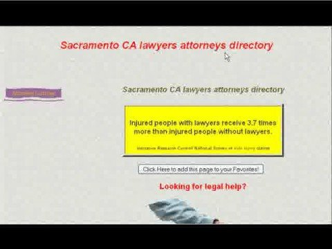 Sacramento lawyers - Search Engine Optimization - SEO ...
