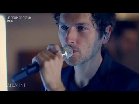 Alcaline, le Mag : AaRON - Blouson Noir en live
