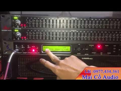 Bộ Karaoke Giá Rẻ, Cục Đẩy AL600 MK2, Vang số XC9000, Lọc Xì 231 DPX, Loa BMB 850, Micro 868